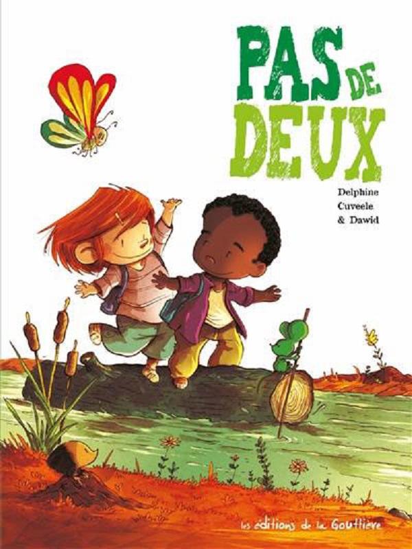 Pas de deux, bd chez Editions de la Gouttière de Cuveele, Dawid
