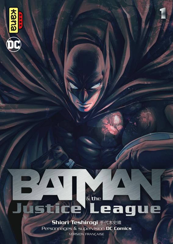 Batman and the Justice League T1, manga chez Kana de Teshirogi