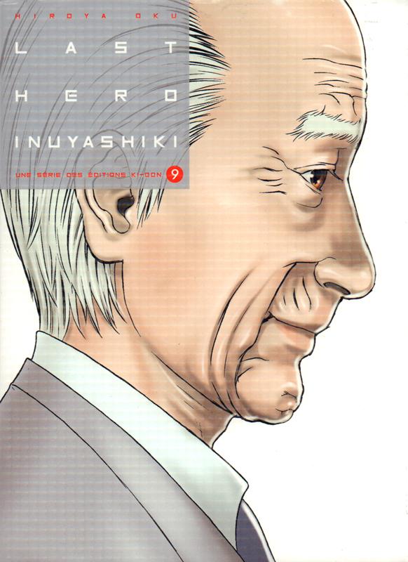 Last hero Inuyashiki T9, manga chez Ki-oon de Oku