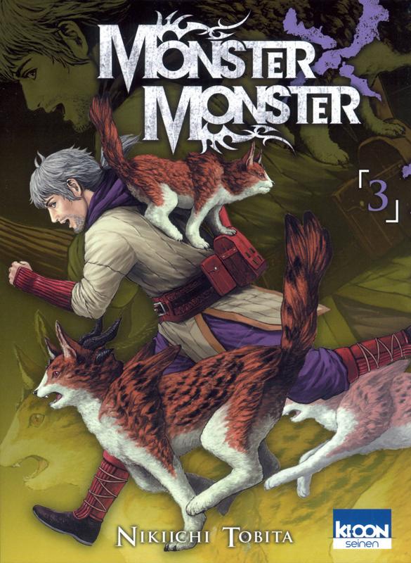 Monster X Monster T3, manga chez Ki-oon de Tobita