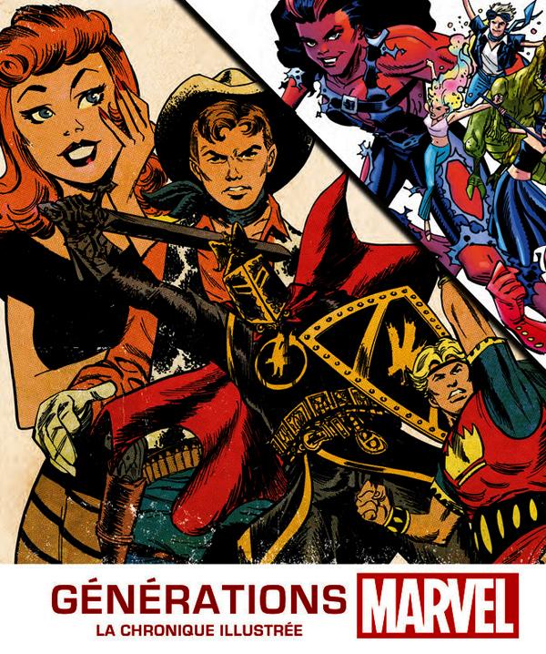 Générations Marvel : La chronique illustrée (0), comics chez Hors Collection de Sanderson, DeFalco, Wiacek, Manning, Brevoort, Kirby, Romita Jr, Ditko, Panosian