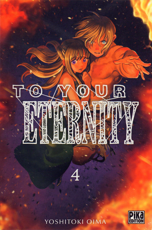 To your eternity T4, manga chez Pika de Oima