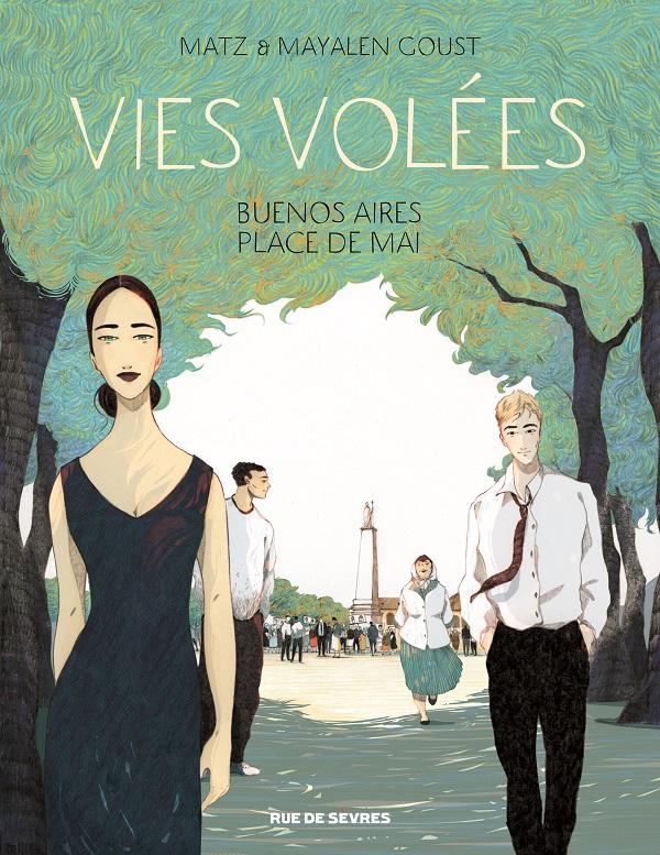 Vies volées, bd chez Rue de Sèvres de Matz, Goust