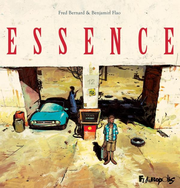 Essence, bd chez Futuropolis de Bernard, Flao