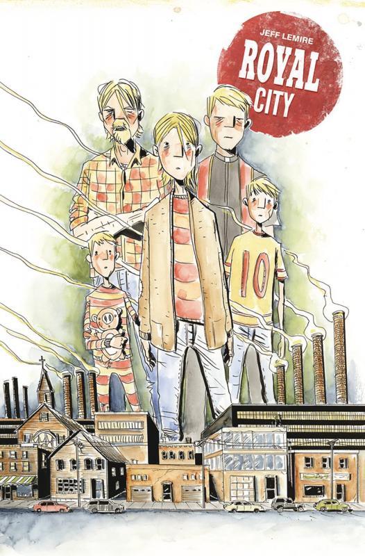 Royal City T1 : Famille décomposée (0), comics chez Urban Comics de Lemire