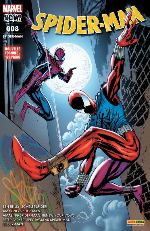 Spider-Man (revue) T8 : Tout reste à faire (0), comics chez Panini Comics de Bendis, Conway, David, Zdarsky, Gage, Slott, Immonen, Siqueira, Kudranski, Bazualda, Stegman, Nauck, Bagley, Ponsor, d' Armata, Gracia, Rosenberg, Aburtov, Keith, Campbell