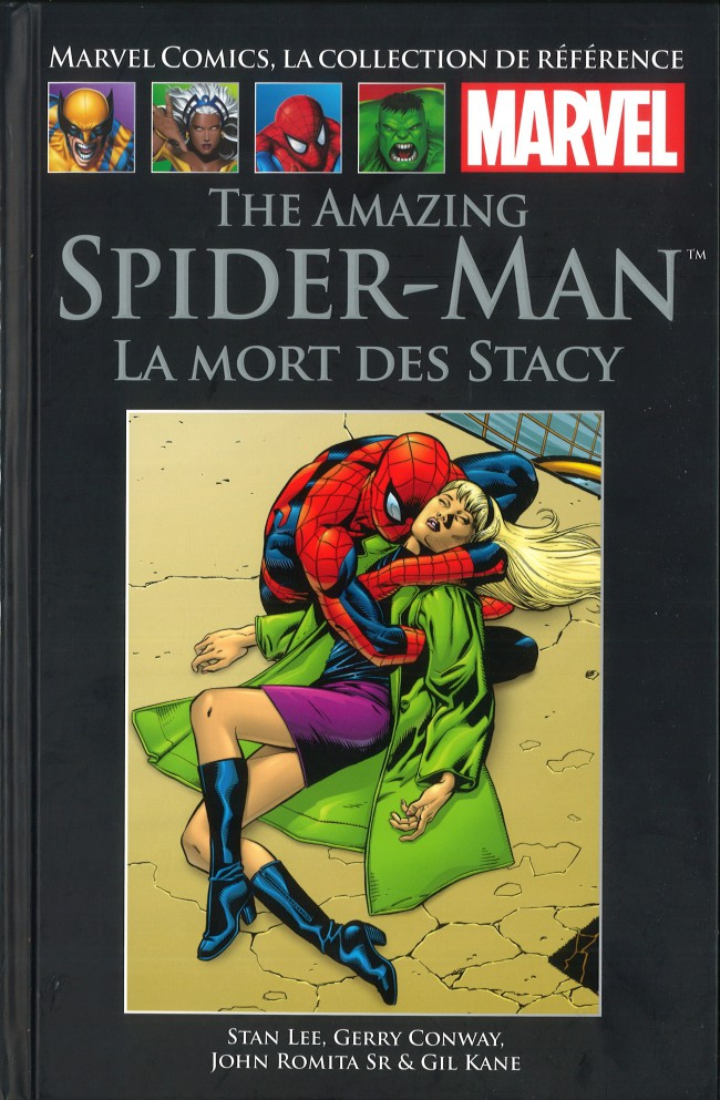 Marvel Comics, la collection de référence – Classic, T17 : The Amazing Spider-Man - La mort des Stacy (0), comics chez Hachette de Conway, Lee, Kane, Romita Sr