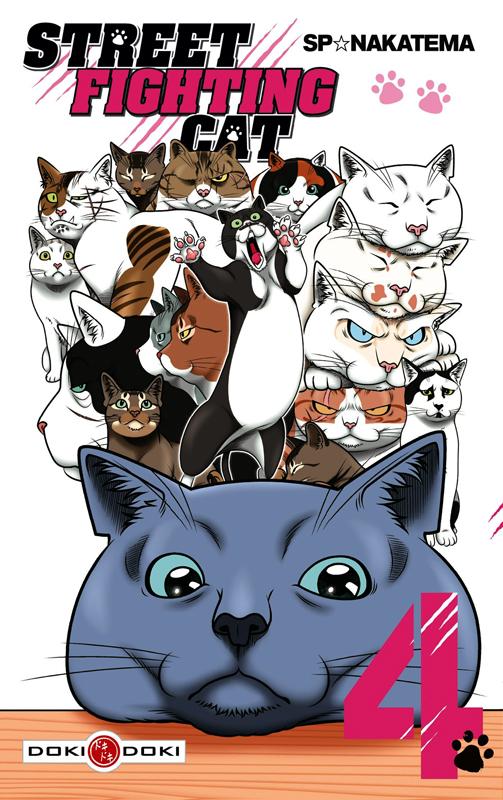 Street fighting cat T4, manga chez Bamboo de Nakatema