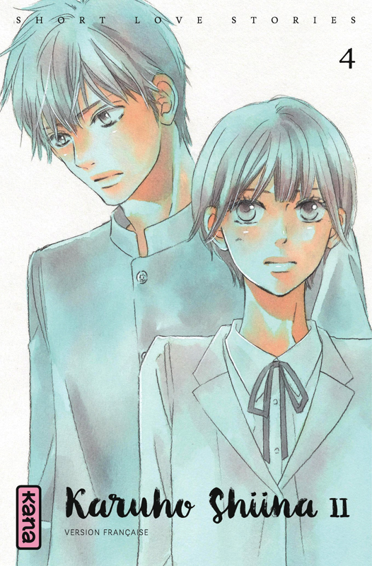 Short love stories T4, manga chez Kana de Shiina