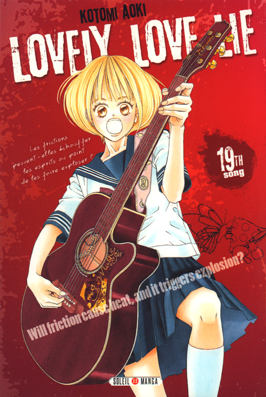 Lovely love lie T19, manga chez Soleil de Aoki
