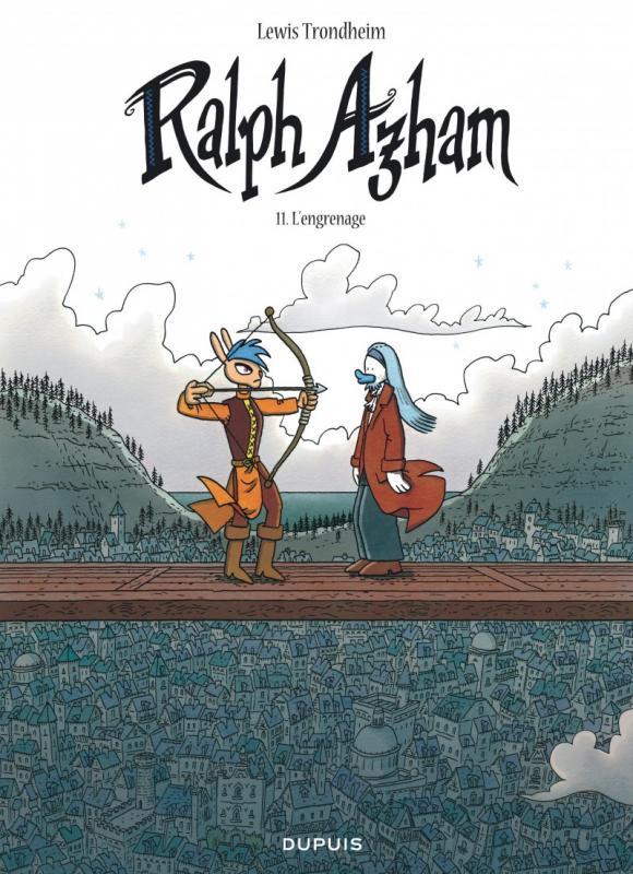 Ralph Azham T11 : L'engrenage (0), bd chez Dupuis de Trondheim, Findakly