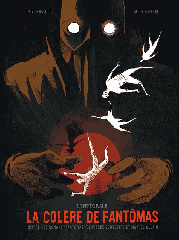 La Colère de Fantomas, bd chez Dargaud de Bocquet, Rocheleau