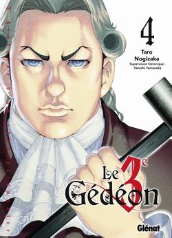 Le 3e Gedeon T4, manga chez Glénat de Nogizaka
