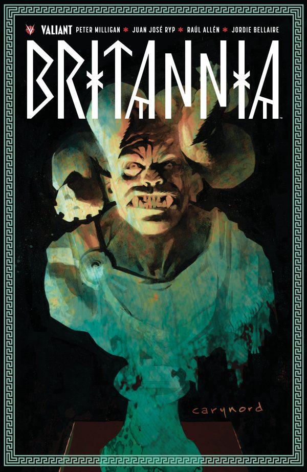 Britannia T1, comics chez Bliss Comics de Milligan, Allen, Juan Jose Ryp, Bellaire, Nord