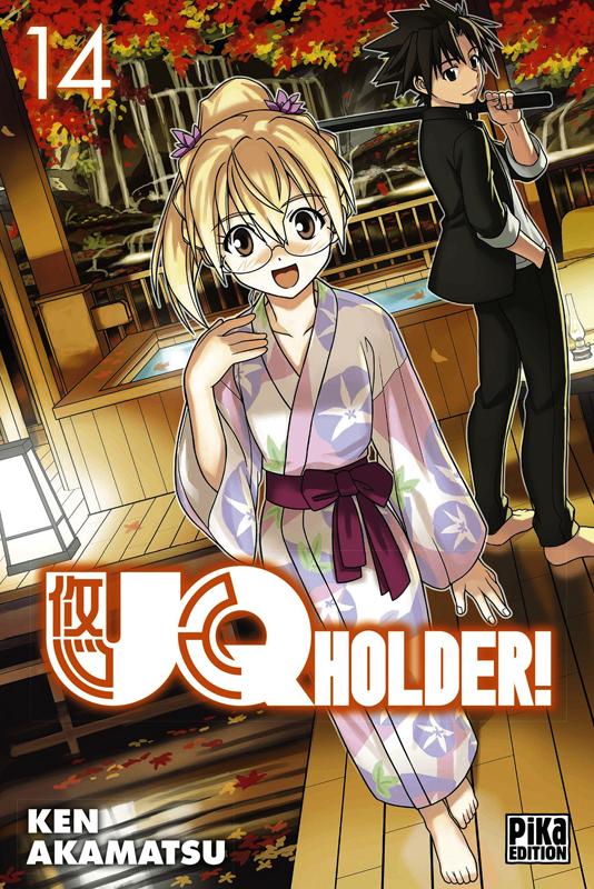 UQ Holder! T14, manga chez Pika de Akamatsu