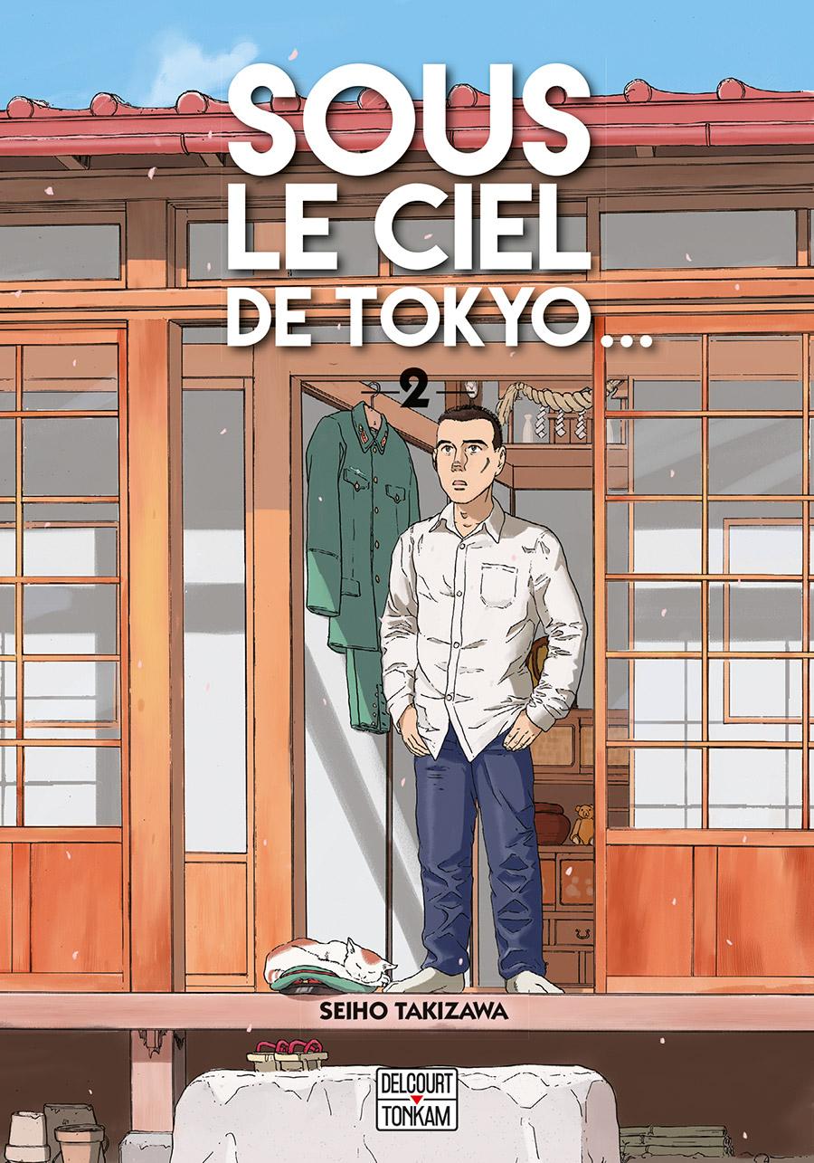 Sous le ciel de Tokyo T2, manga chez Delcourt Tonkam de Takizawa