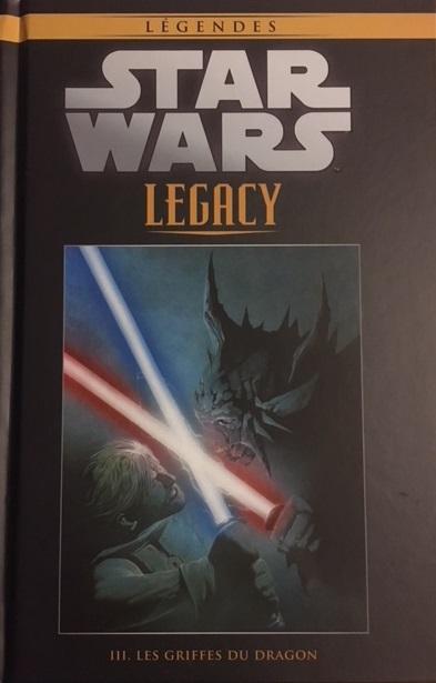 Star Wars Légendes T87 : Legacy - 3 - Les griffes du dragon (0), comics chez Hachette de Ostrander, Duursema