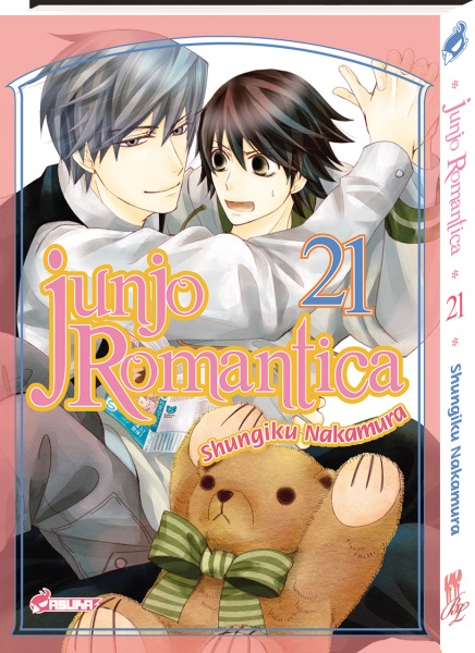 Junjo romantica T21, manga chez Asuka de Nakamura