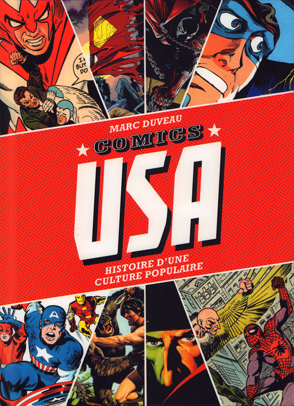 Comics USA, comics chez Huginn & Muninn de Duveau, Kirby, Eisner, Ditko