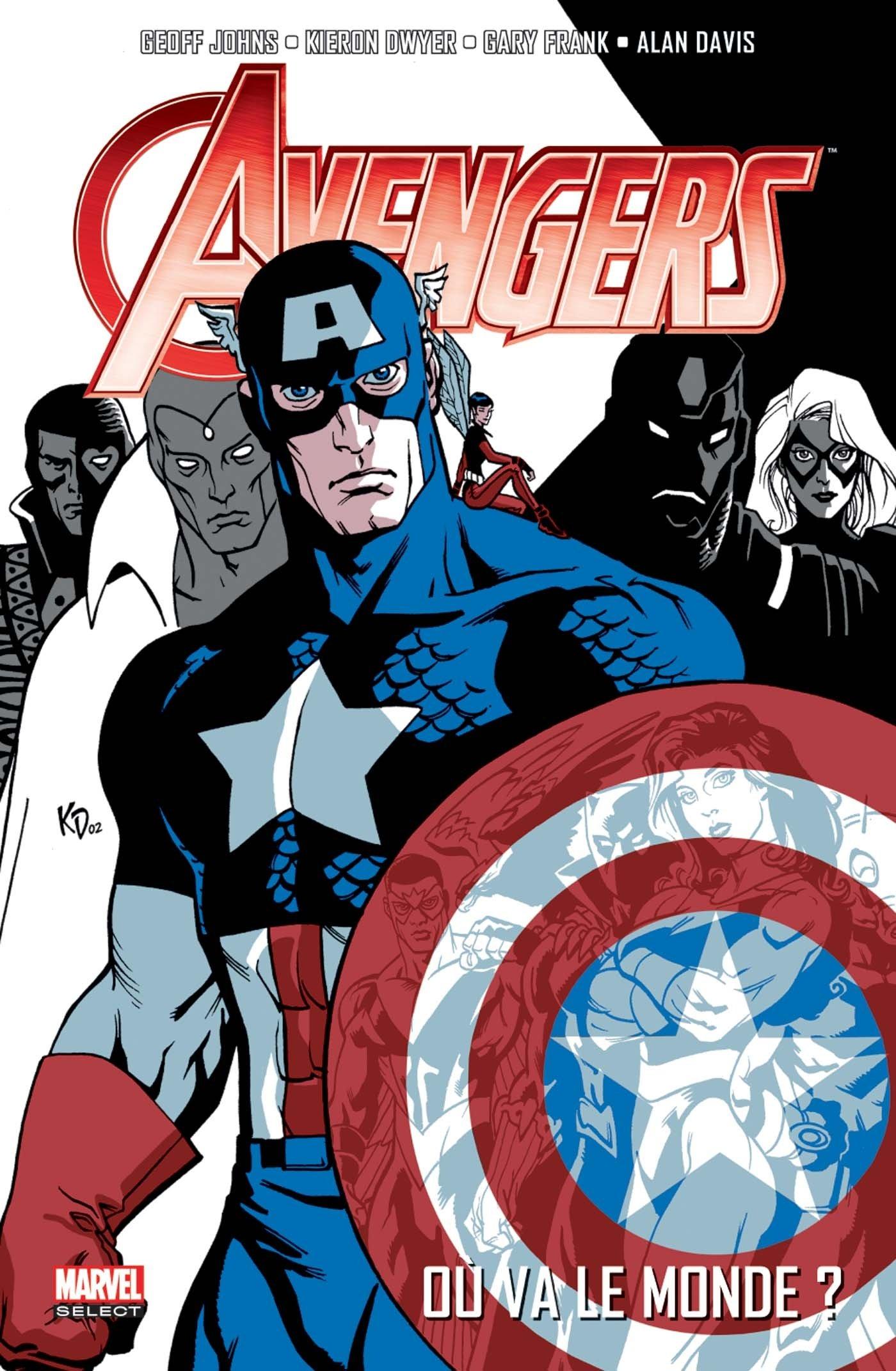 Avengers par Geoff Johns T1, comics chez Panini Comics de Johns, Kolins, Lanning, Frank, Coipel, Remender, Reis, Sadowski, Dwyer, Sotomayor, Smith