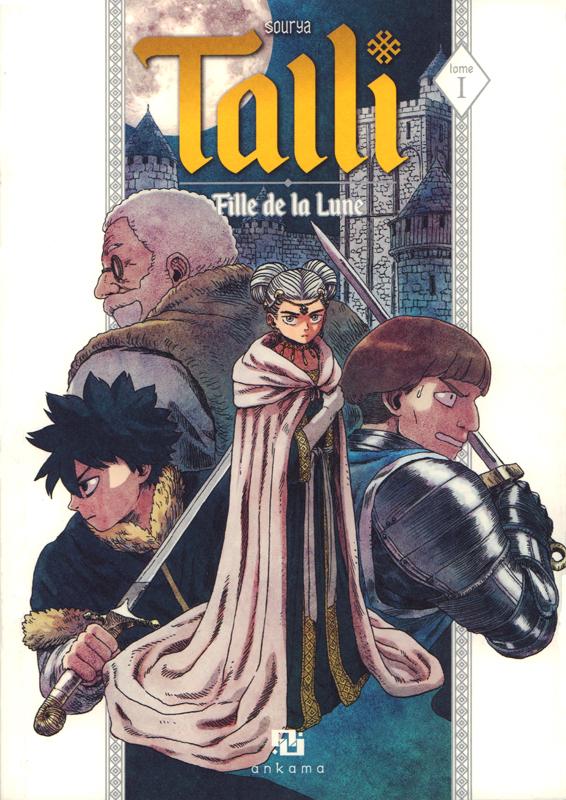 Talli fille de la Lune T1, manga chez Ankama de Sihachakr