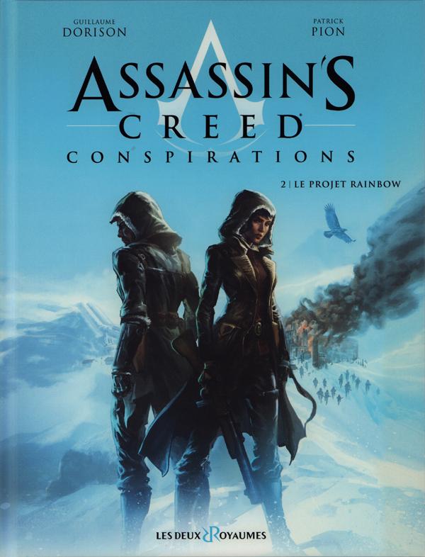 Assassin's Creed Conspirations T2 : Le projet Rainbow (0), bd chez Les deux royaumes de Dorison, de Rochebrune, Pion, Minte