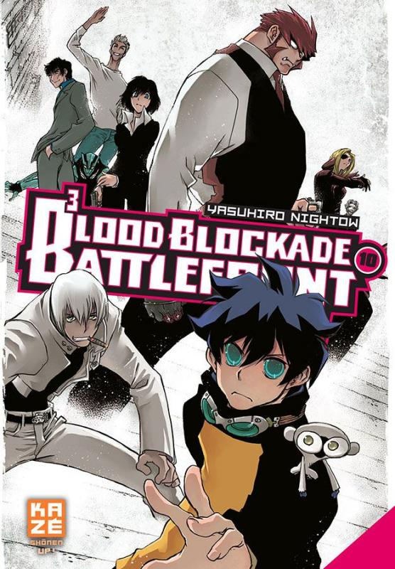Blood blockade battlefront T10, manga chez Kazé manga de Nightow