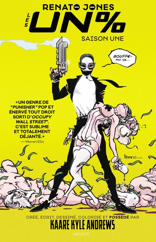 Renato Jones T1 : Les Un% (0), comics chez Akileos de Andrews