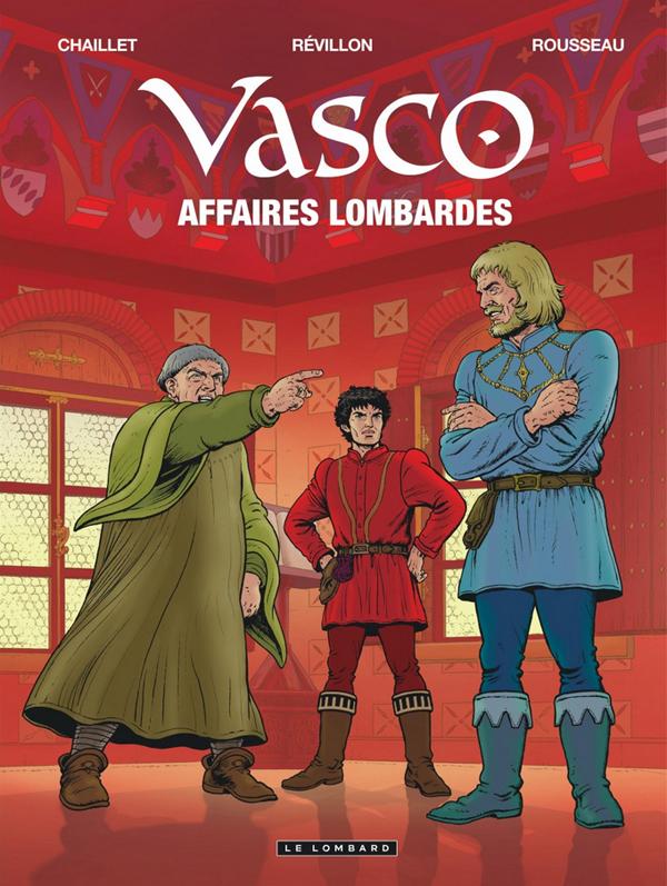 Vasco T29 : Affaires lombardes (0), bd chez Le Lombard de Révillon, Chaillet, Rousseau