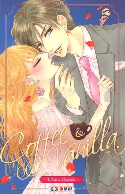 Coffee & vanilla T3, manga chez Soleil de Akegami