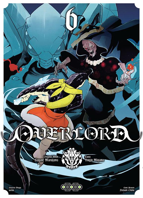 Overlord T6, manga chez Ototo de Maruyama, Miyama