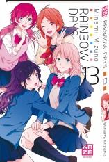 Rainbow days  T13, manga chez Kazé manga de Mizuno