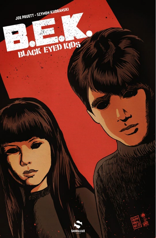 Black-Eyed Kids T1, comics chez Snorgleux de Pruett, Kudranski, Major, Francavilla