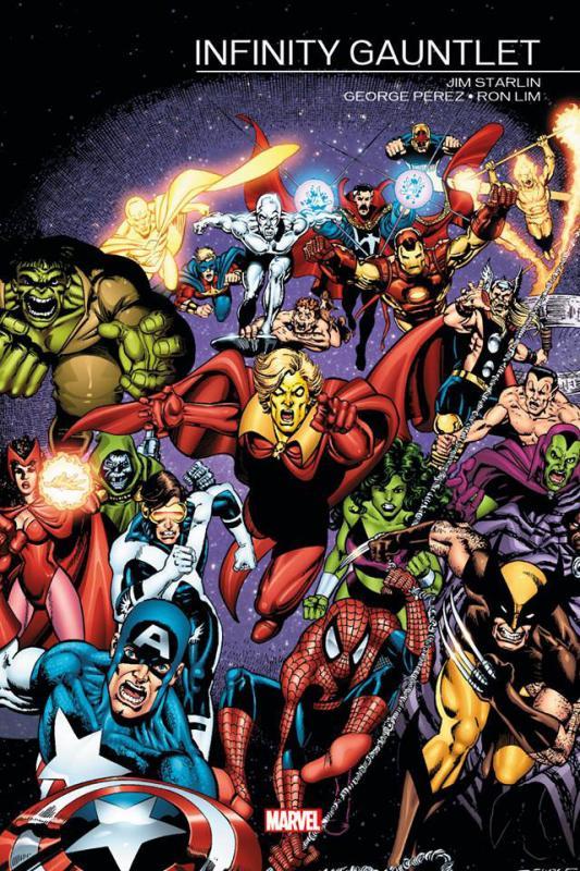 Marvel Events : Infinity Gauntlet (0), comics chez Panini Comics de Starlin, Perez, Lim, Scheele, Stein, Laughlin
