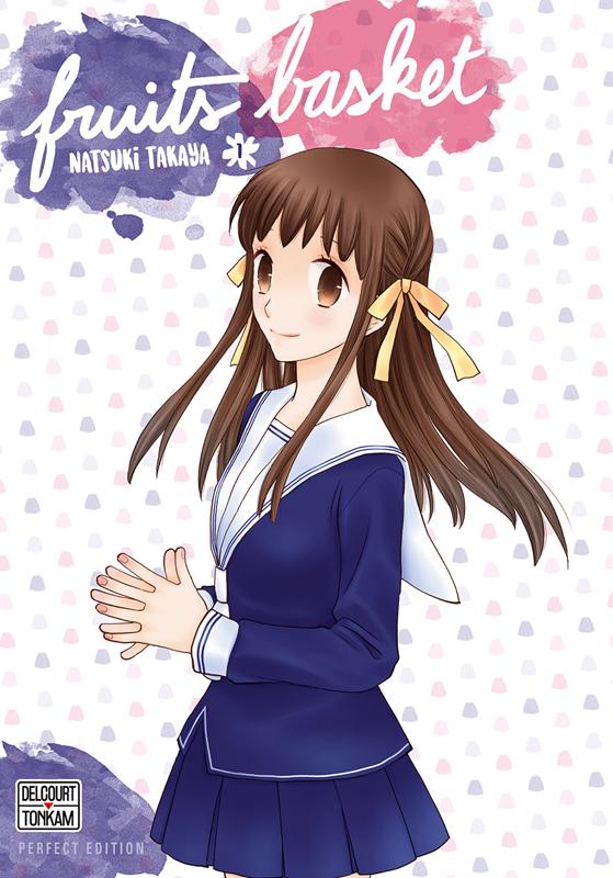Fruits Basket – Perfect edition, T1, manga chez Delcourt Tonkam de Takaya