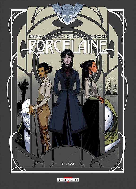 Porcelaine T3 : Mère (0), comics chez Delcourt de Read, Wildgoose, May