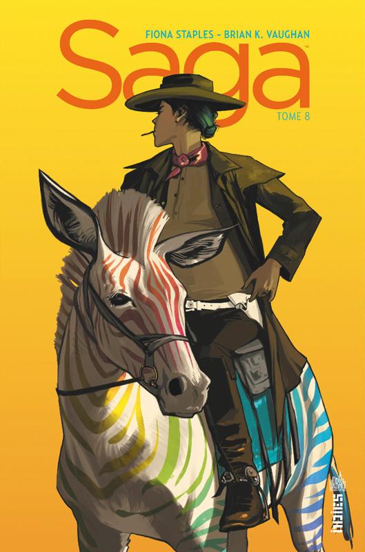 Saga T8, comics chez Urban Comics de Vaughan, Staples