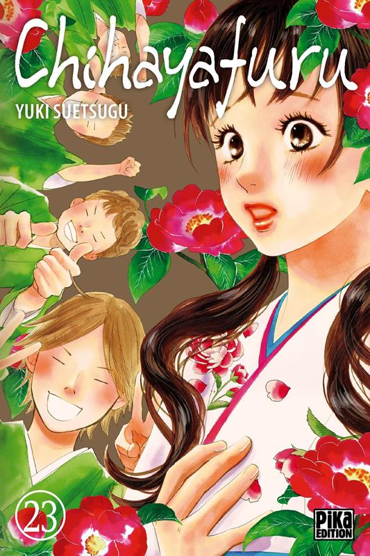 Chihayafuru T23, manga chez Pika de Suetsugu
