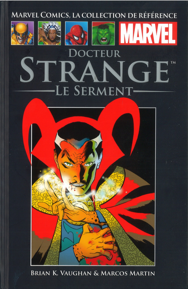 Marvel Comics, la collection de référence T64 : Docteur Strange - Le serment (0), comics chez Hachette de Vaughan, Martin, Rodriguez, Lopez