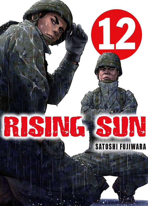 Rising sun T12, manga chez Komikku éditions de Fujiwara
