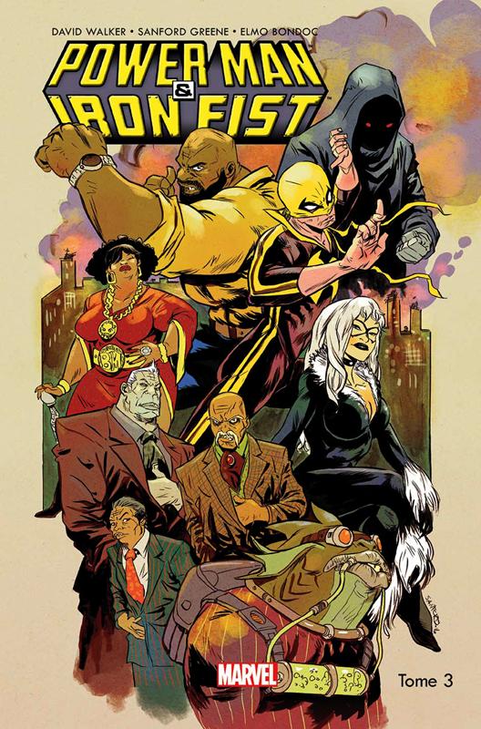 Power Man & Iron Fist T3 : Magie de rue (0), comics chez Panini Comics de Walker, Greene, Bondoc, Rauch, Loughridge