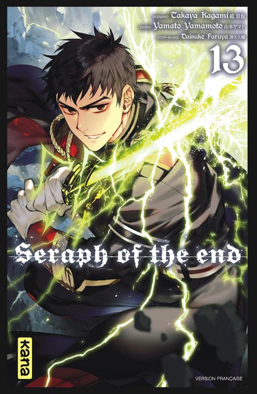 Seraph of the end  T13, manga chez Kana de Kagami, Yamamoto