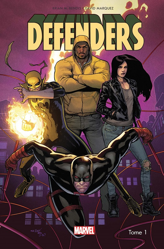 Defenders T1 : Les diamants sont éternels (0), comics chez Panini Comics de Bendis, Marquez, Ponsor