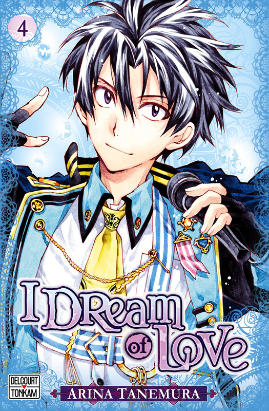 I dream of love T4, manga chez Delcourt Tonkam de Tanemura