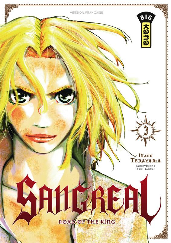 Sangreal T3, manga chez Kana de Terayama