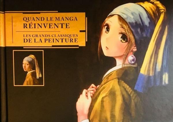 Quand le manga réinvente les grands classiques de la peinture, manga chez Mana Books de Collectif