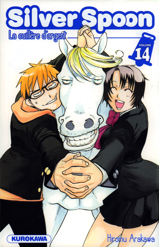 Silver spoon T14, manga chez Kurokawa de Arakawa