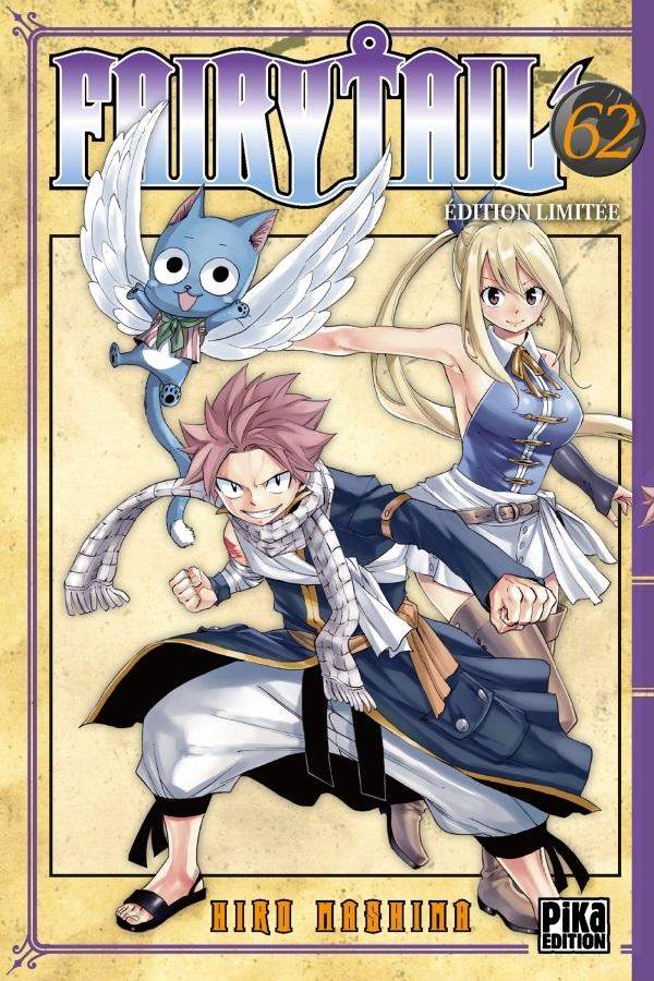 Fairy Tail T62, manga chez Pika de Mashima