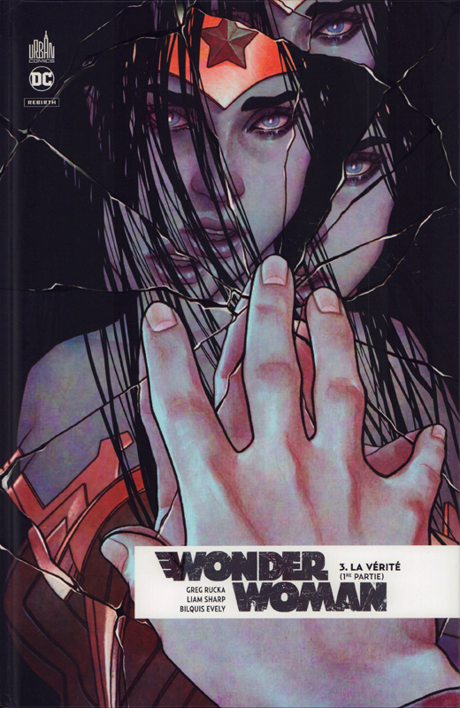 Wonder Woman Rebirth T3 : La vérité (1re partie) (0), comics chez Urban Comics de Sharp, Rucka, Evely, Guedes, Martin, Fajardo Jr, Frison
