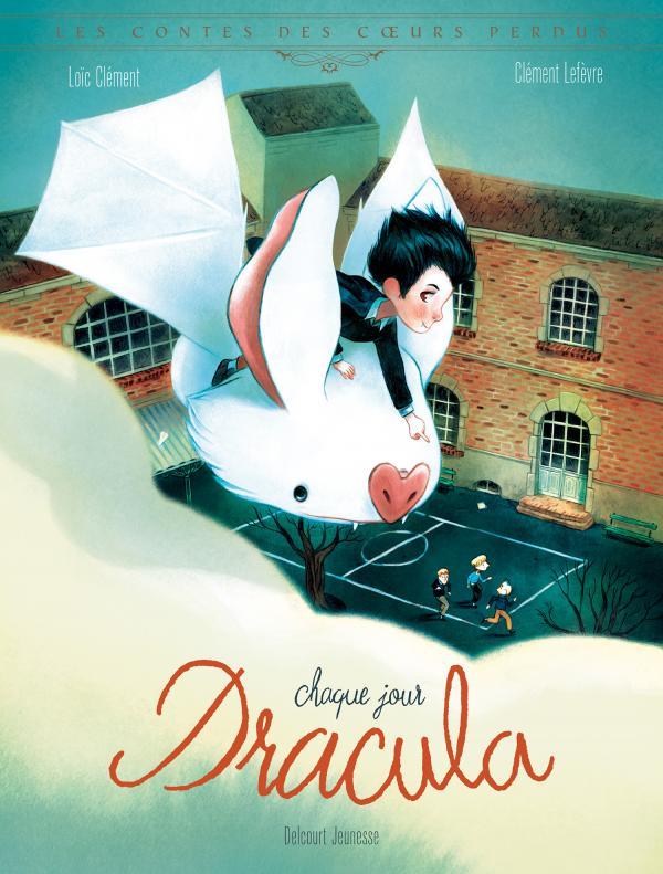 Chaque jour Dracula, bd chez Delcourt de Clément, Lefèvre